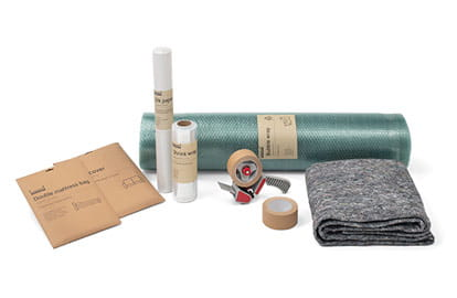 packaging materials and tools