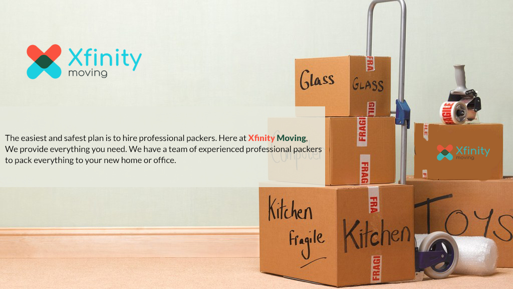 Why Xfinity Professional Packers Make Your Move Easier?